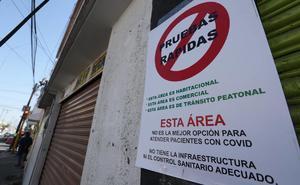 Protestan contra instalación de módulo para pruebas Covid en Toluca