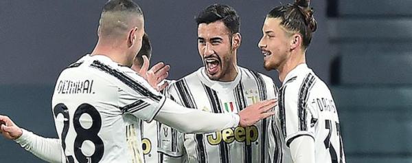 Juventus a semifinal de Copa Italia