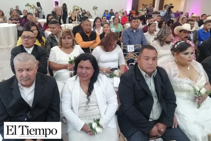 Invitan a parejas a dar el 'Sí' más importante de su vida en las bodas comunitarias