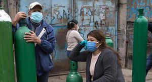 Cilindros para uso industrial pueden estar contaminados