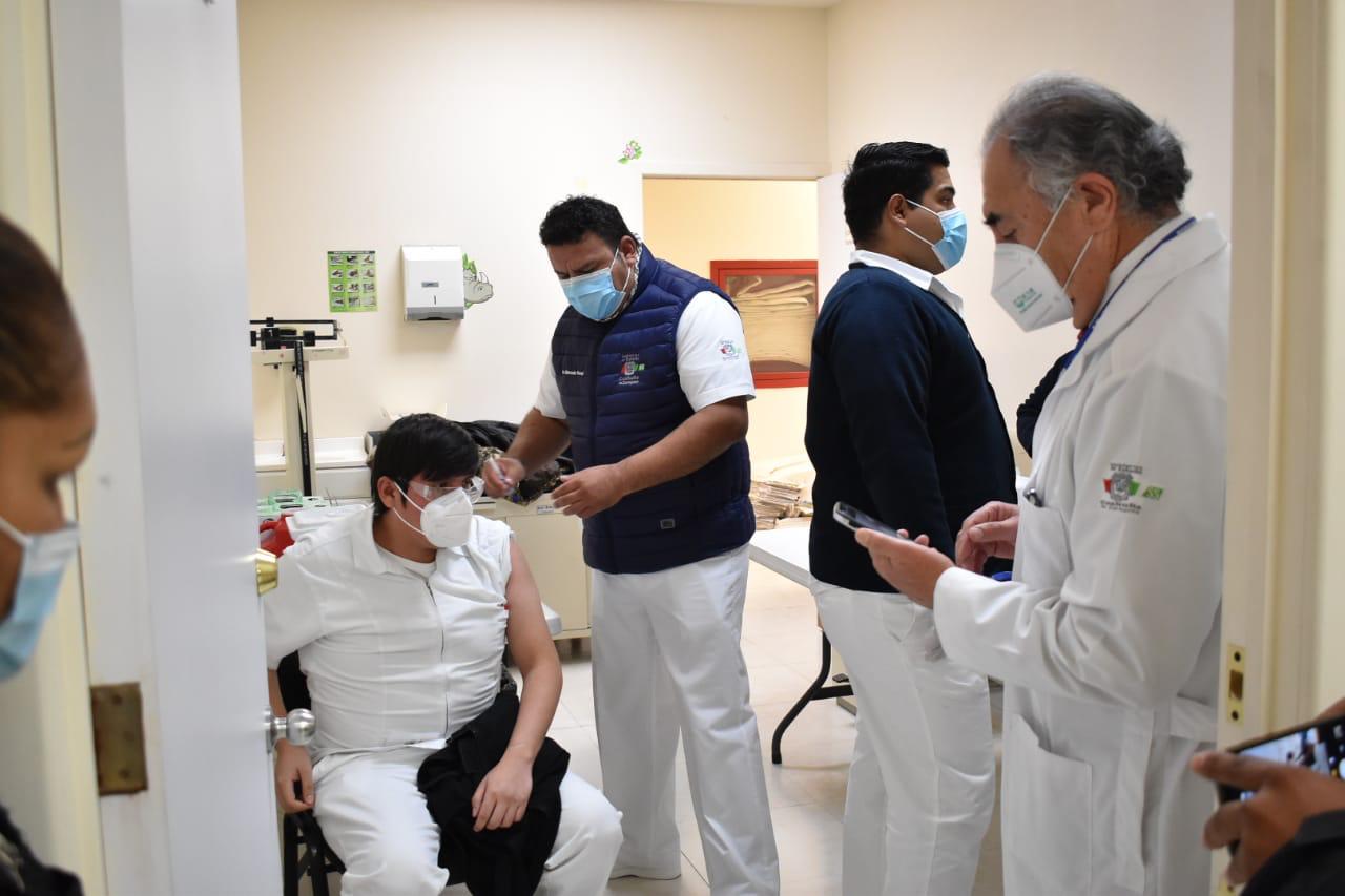Concluye campaña de segunda dosis Covid-19 del Sector Salud
