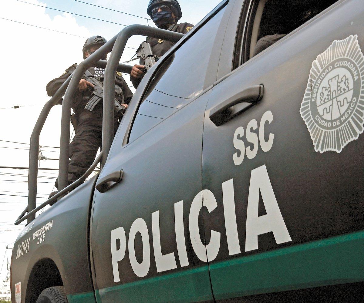 SSC salva a joven de ser linchada por presunto robo