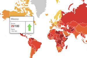 México escala 6 posiciones en Índice de Percepción de Corrupción 2020