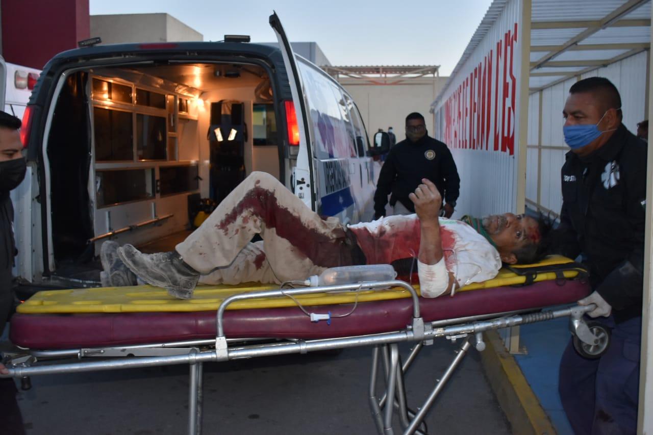 Recibe seis piquetes en el tórax tras riña en Estancias de Monclova