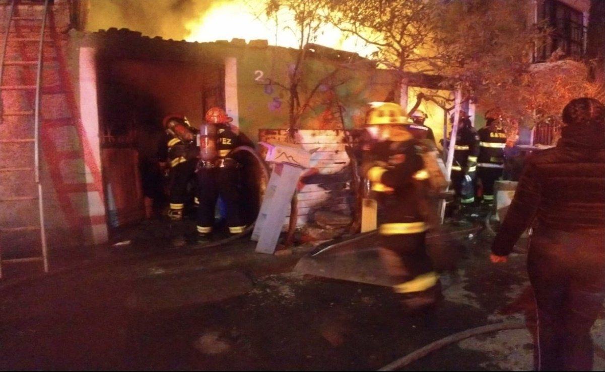Familia muere durante incendio en Aguascalientes