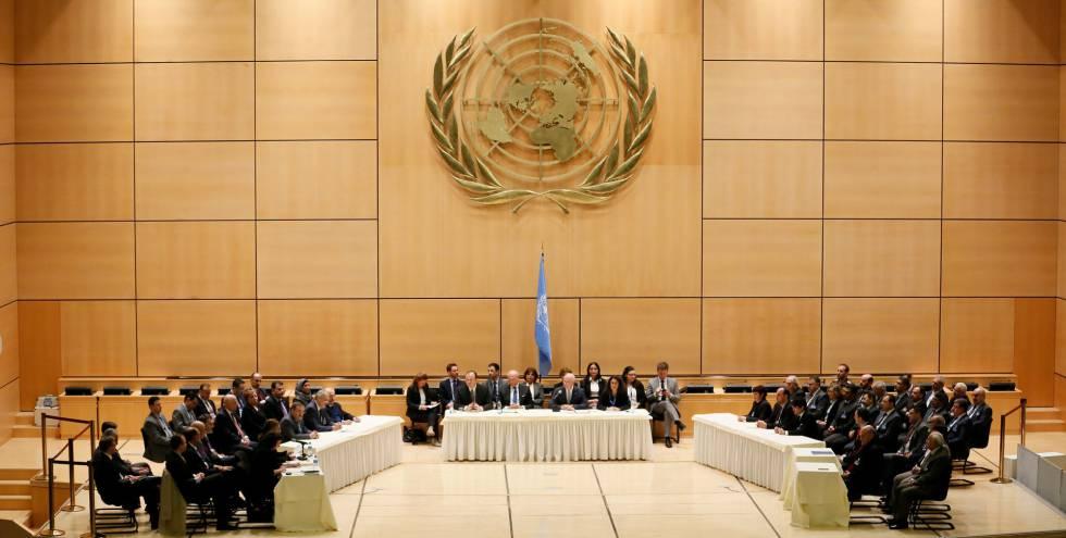 La ONU reconoce que está fracasando la negociación para la Constitución siria