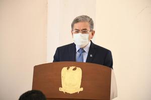 Salvador Hernández Vélez resulta contagiado de COVID-19
