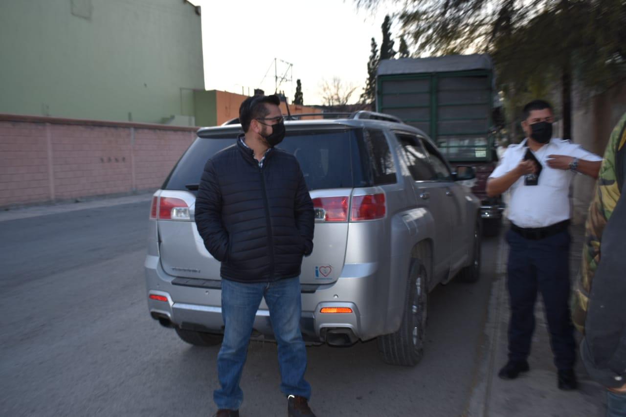 Menor causa fuerte percance en Monclova