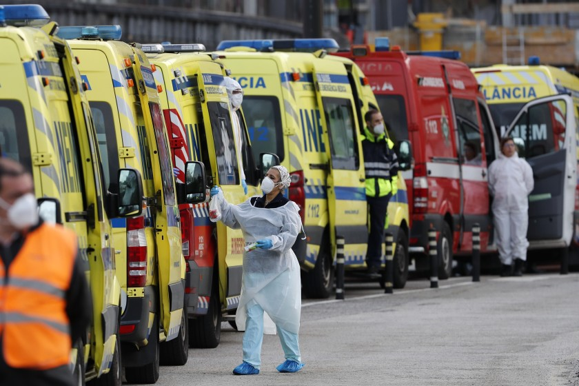 Portugal notifica 293 muertes en la 'tercera ola'
