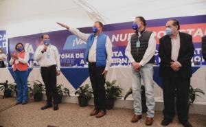 Gándara protesta como candidato del PAN a gubernatura de Sonora