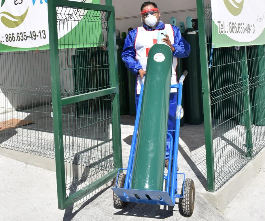 Entregarán tanques de oxígeno gratuitos a pacientes COVID-19