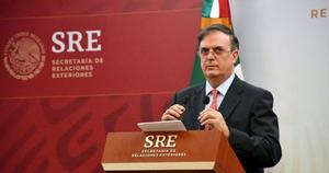 SRE: Enviamos personal de embajada para verificar planta de Pfizer