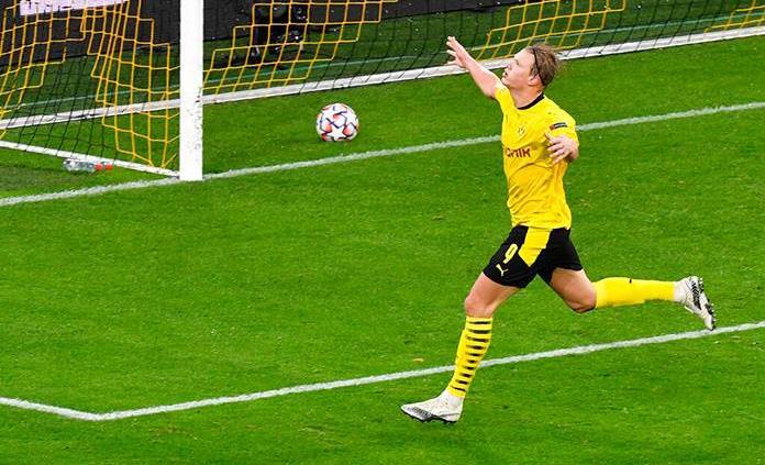 Un gol de Haaland en la prórroga da el pase a cuartos al Dortmund