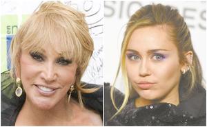 Laura León agradece que la comparen con Miley Cyrus