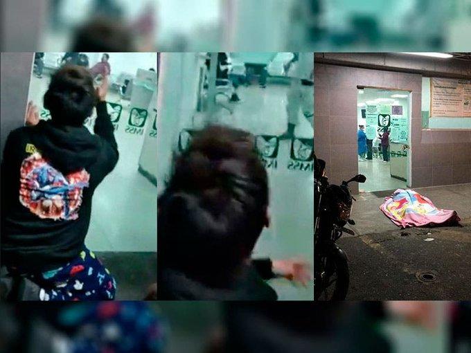 Hombre muere en puerta de hospital; no tenía COVID-19, dice familia