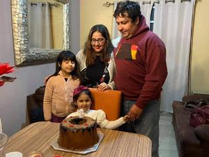 Frida celebra 3 añitos en Monclova