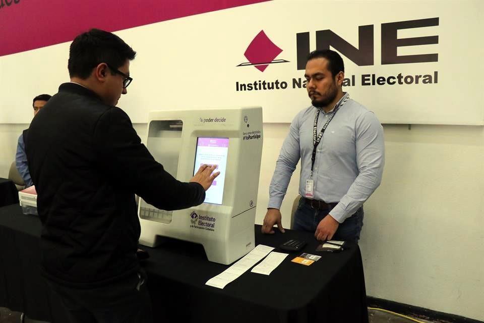 Aprueba INE lineamientos para voto electrónico en Coahuila y Jalisco en el Proceso Electoral Concurrente 2020-2021