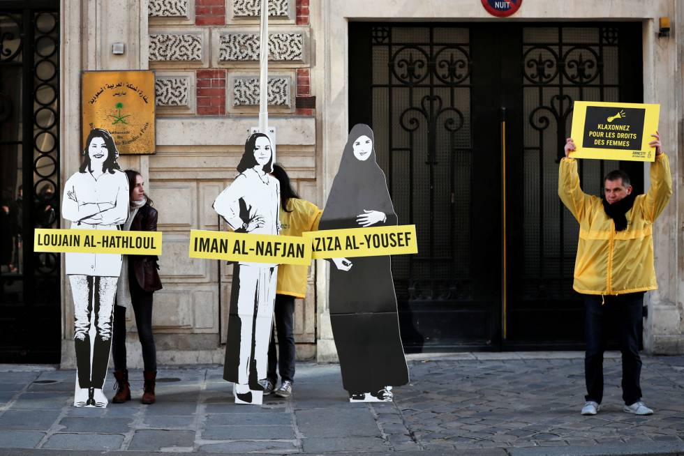 Libertad provisional para dos activistas saudíes y estadounidenses