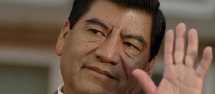 Exgobernador Mario Marín rinde declaración en juzgado de Cancún