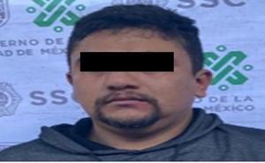 Detienen en la GAM a Emmanuel 'N', presunto reclutador del CJNG