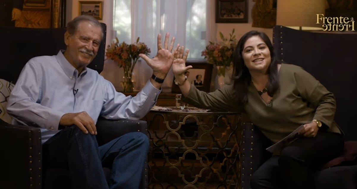 Vicente Fox fue 'víctima' de comedia de 'Backdoor' y lo dejan callado