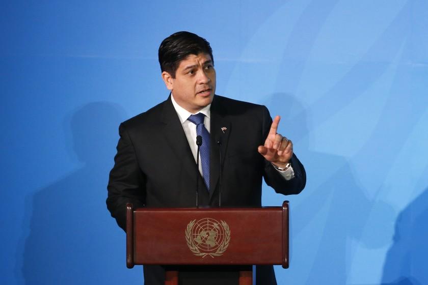 Presidente de Costa Rica comparecerá en el Congreso
