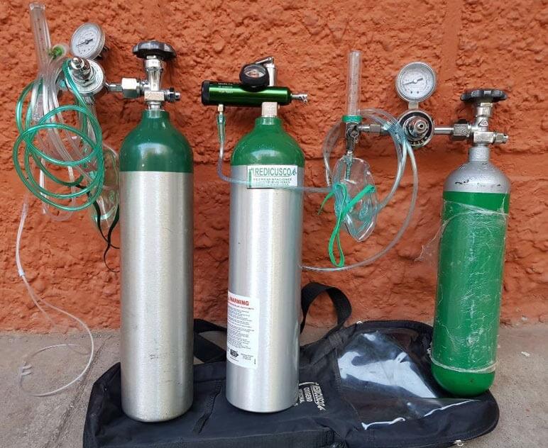 Sin recursos Abasolo   para la compra de tanques de oxígeno en Abasolo