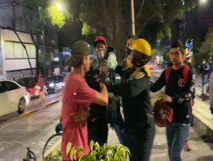 VIDEO: Captan golpiza de policías a ciclistas en la CDMX