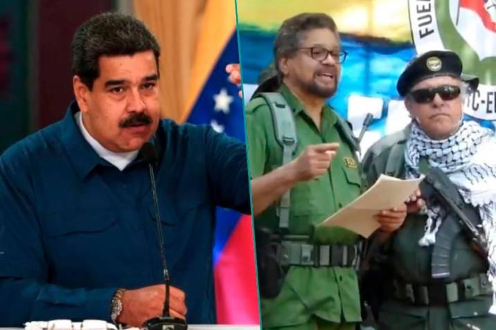 Piden atender 'alianza' de Maduro con disidentes de FARC