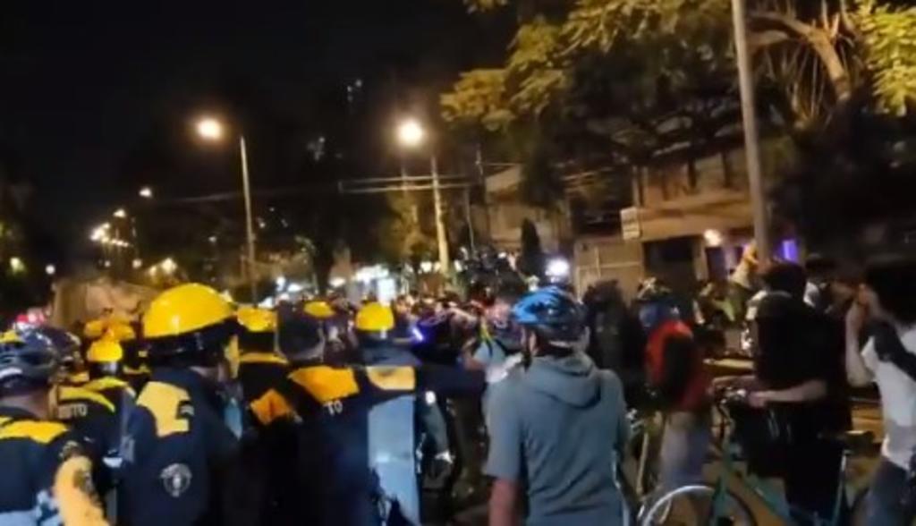 Suspenden a cuatro mandos de la SSC tras altercado con ciclistas