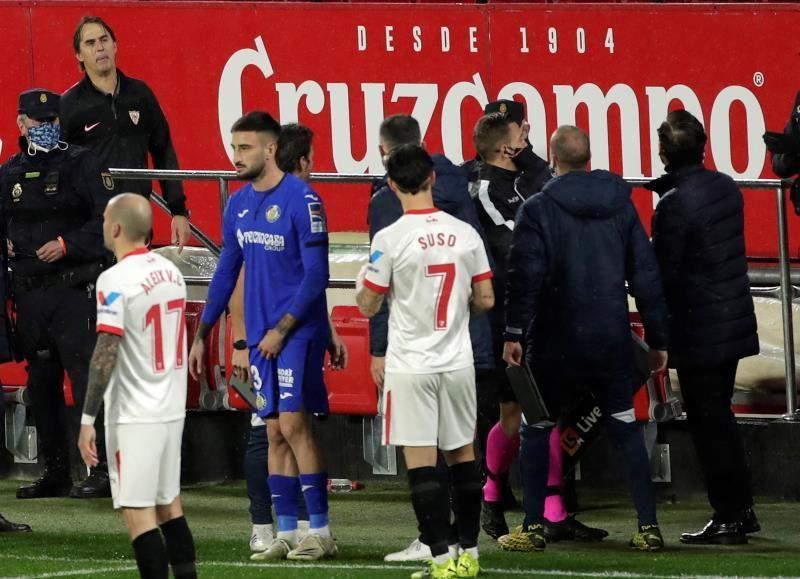 Bordalás dice haber sido 'agredido' verbalmente 'por el técnico rival'