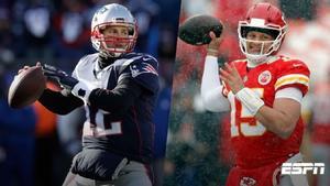 Patrick Mahomes vs Tom Brady, ¿el momento de dar la estafeta?