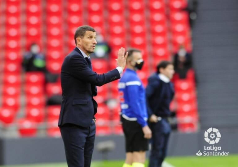 Javi Gracia: 'El equipo nunca ha renunciado a ganar'