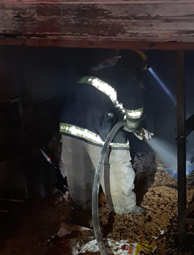 Se incendia forrajera en Monclova