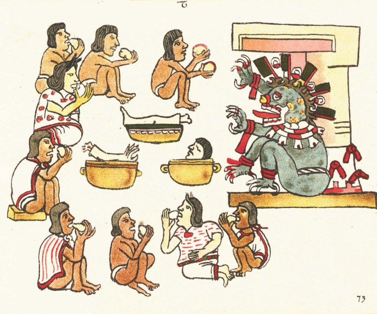 ¿Los mexicas se comían a sus enemigos?