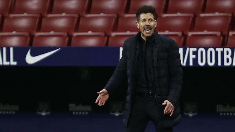 Simeone: 'Nos están haciendo bastantes goles'