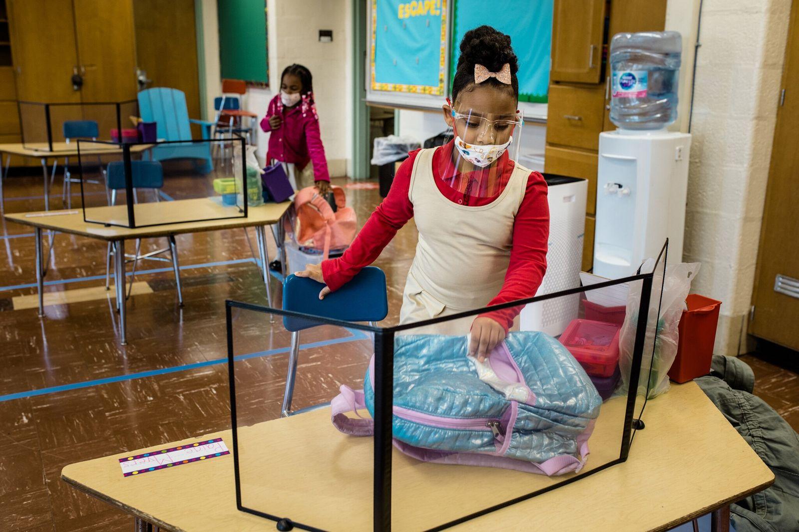 Un estudio en guarderías demuestra la baja transmisión de covid entre niños