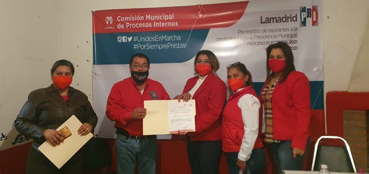 Gana MagdalenaOrtíz la elección  interna del PRI