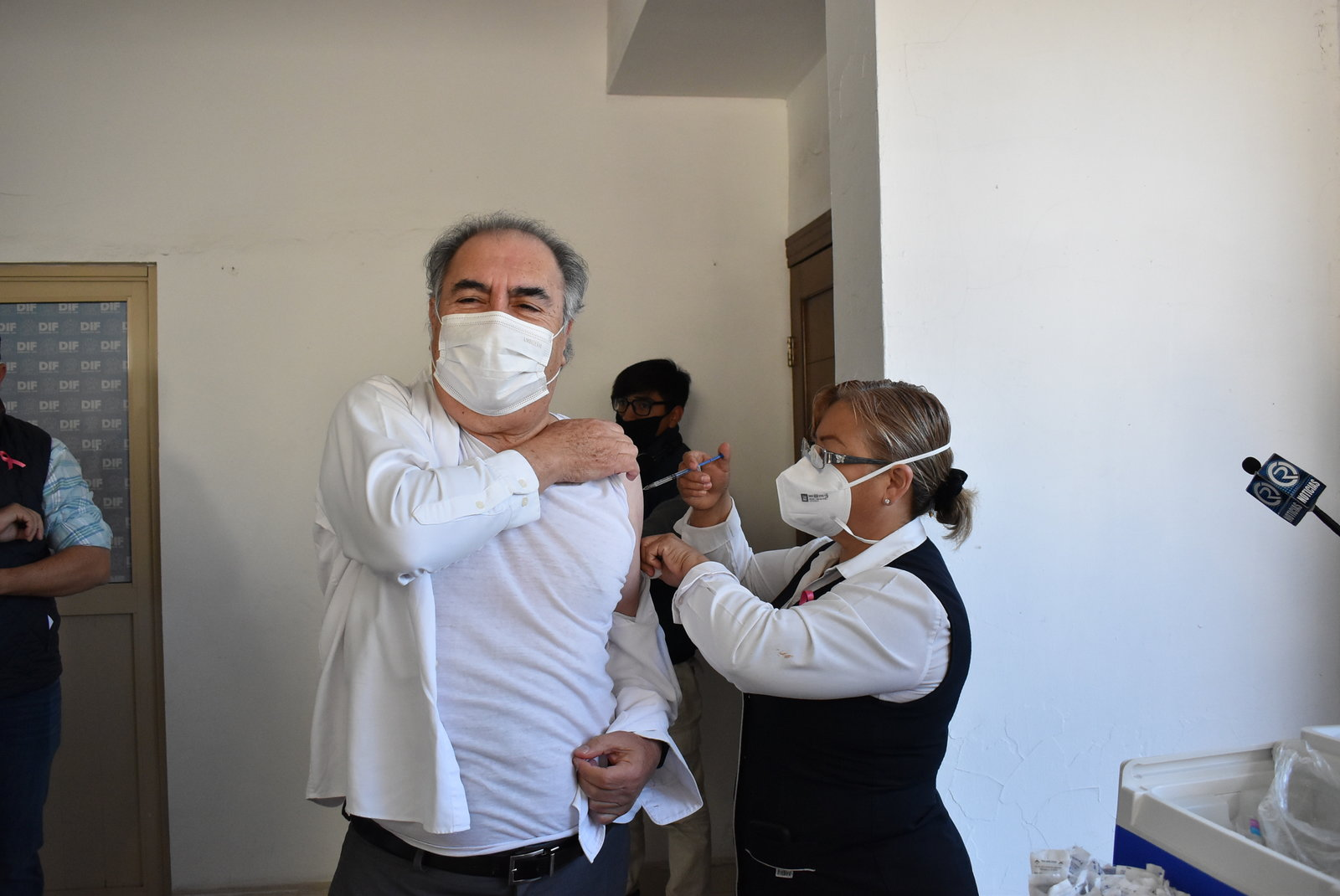 Vacunación contra COVID-19 para adultos de la Región Centro sería en Monclova