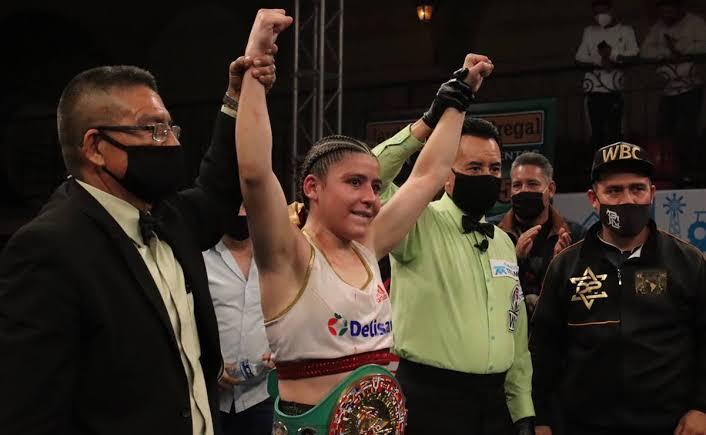 Yamileth Mercado defendió su campeonato con el tímpano roto