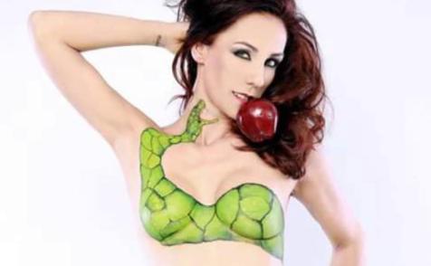 FOTOS: Consuelo Duval inspira con provocativo body paint