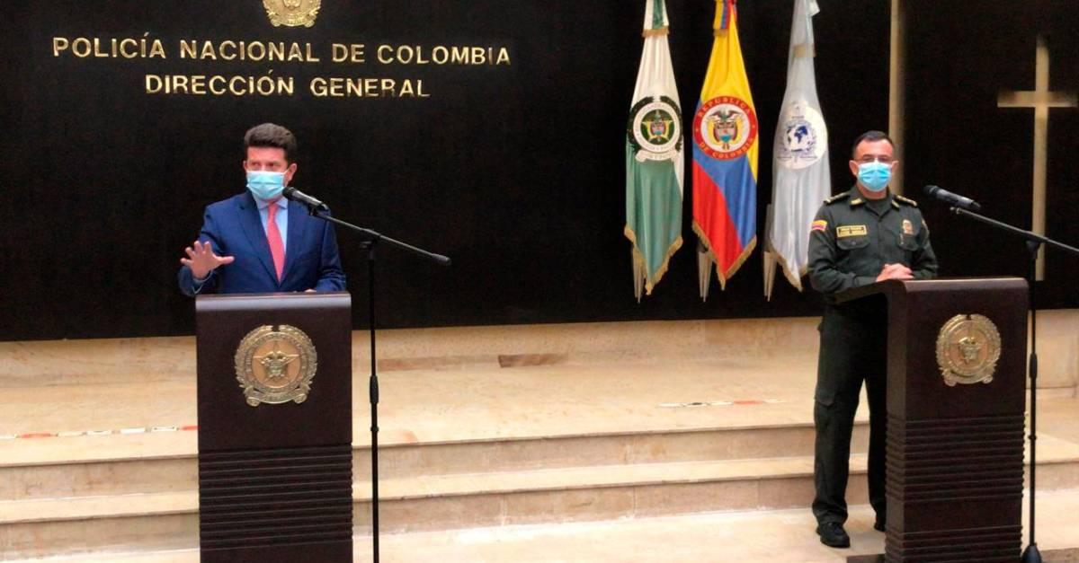 Colombia refuerza seguridad ciudadana con 33,000 policías en las calles