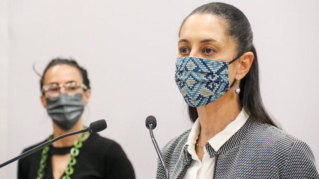 Claudia Sheinbaum: 'No habrá confrontación por uso del cubrebocas'