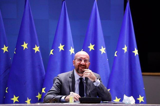 Michel busca cooperar con EU y Londres frente a Rusia, que no le intimida
