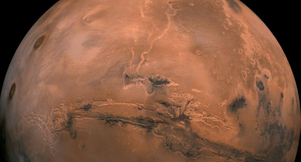 Hallan un nuevo gas que desvelará secretos de la evolución del agua en Marte