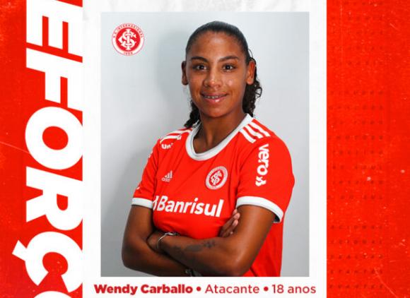 La delantera uruguaya Wendy Carballo ficha por el Internacional