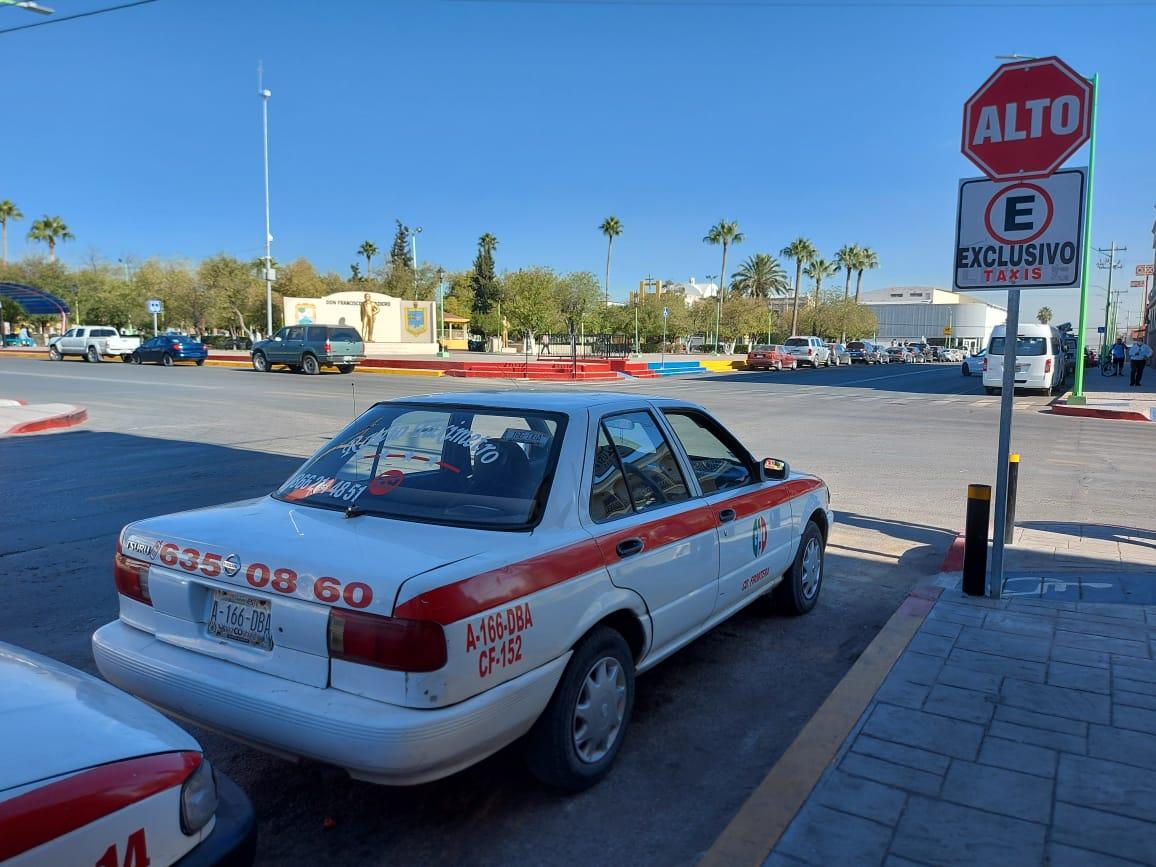 Programan revisión de unidades de taxis en Frontera
