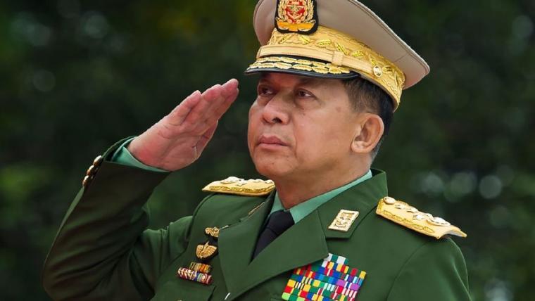 EU sanciona al líder del golpe en Birmania y a otros nueve oficiales