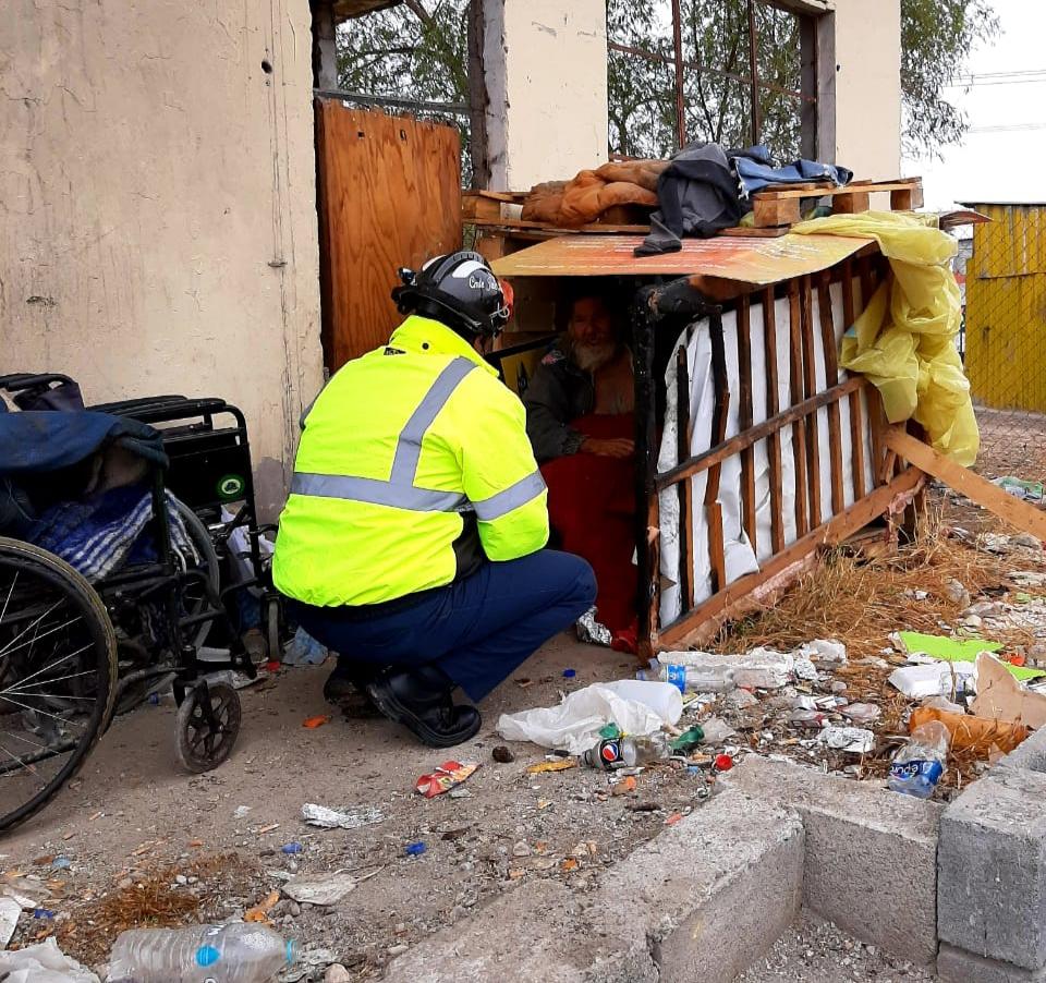 Albergan en PC de Monclova a indigentes y migrantes
