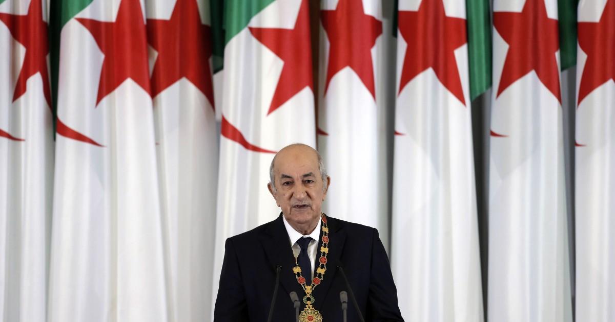 El presidente argelino regresa a su país tras un mes en Alemania por covid-19
